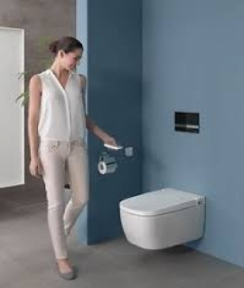 Vitra V-care Comfort Dusch Wand-WC Vitracare 5674B003-6104